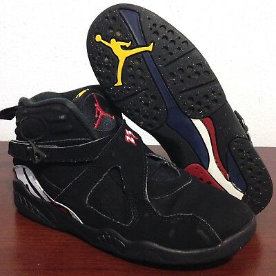 huge sale 92835 fd70d Nike Air Jordan 8 VIII Retro Playoff Size 2Y 2 PS Black Red 305369-061