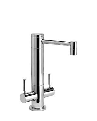 Waterstone 1900HC-AP Hunley Hot and Cold Filtration Faucet, Antique Pewter