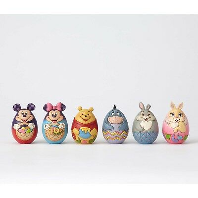 Disney Traditions Easter Mickey Minnie Pooh Ehore 6 Eggs Jim Shore 4057679