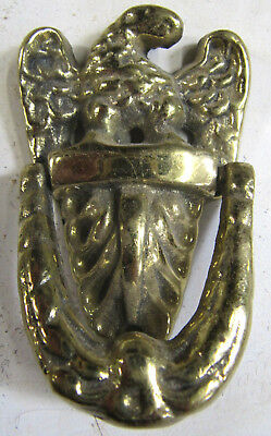 Vintage Eagle Solid Brass Door Knocker