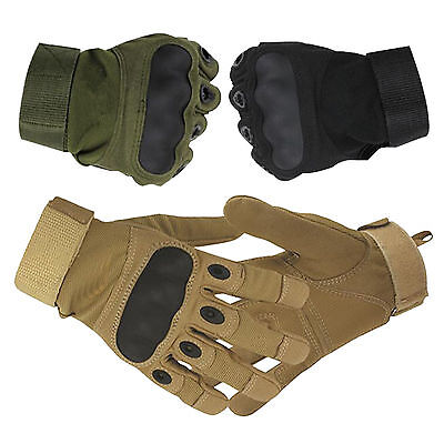Outdoor Full Finger Antiskid Mens Sports Gloves Riding Cycling Tactical Gloves