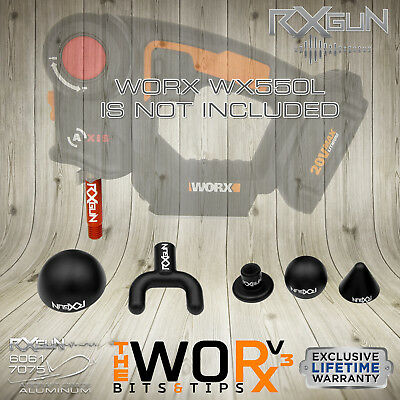 Percussion Massager DMS System Bit Tip for Worx WX550L NOT TheraGun G2PRO TimTam