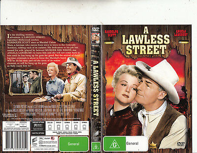 A Lawless Street-1955-Randolph Scott-Movie-DVD