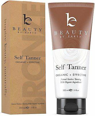 Self Tanner, Beauty By Earth, 7.5 oz