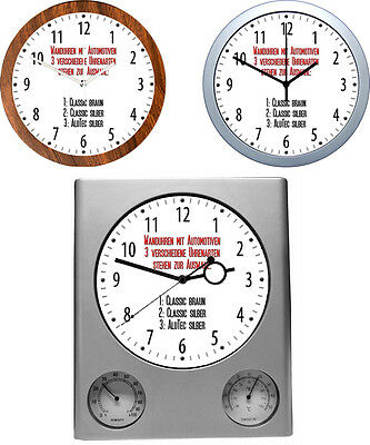 Wall Clock with Car Motive: Car Brand I & J - 3 Different Watch Models Car