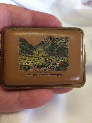 Vintage Souvenir Match Box Cover / Vesta Match Case
