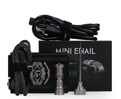 GreenlightVapes G9 Mini Titanium E-Nail Kit Controller Aromatherapy Oil Box