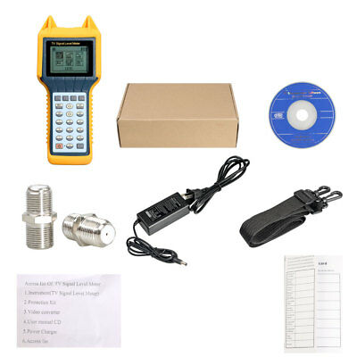 RY200 RY-200 CATV Cable TV Digital Signal Level Meter DB Scanner Tester Tool