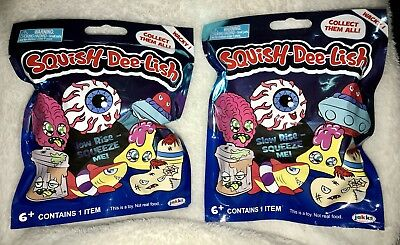 Squish Delish Wacky Series : SQUISH DEE-LISH Series 1 Squishy Slow Rise Foam Mystery Pack Blind Bag NEW -   USD9.95 PicClick
