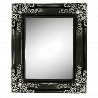 Silver Antique Style Framed Mirror