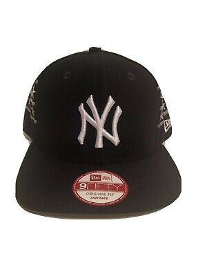 c7907317f9f New York Yankees New Era MLB 9Fifty 950 Fine Side Snapback Mens Fit Cap Hat