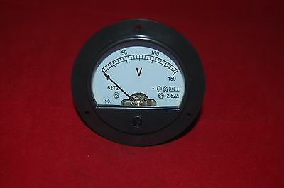 AC 0-150 V fine Tuning Dial Panel Square Analog Voltage Meter voltmètre modèle 6L2