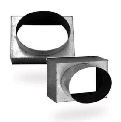 NECK ADAPTER FOR DUCT SQUARE CELILING AIR DIFFUSER Model: NA-BD-N 300x300
