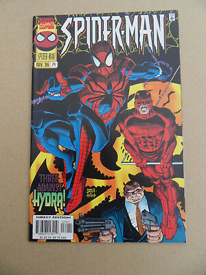 Spider-Man 74 . J.R jr / Daredevil / Kingpin App . Marvel 1996 . VF