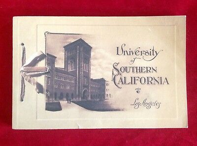 USC University of Southern California Los Angeles Glimpses of History 1880-1995