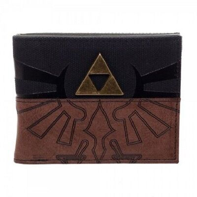 *NEW* The Legend of Zelda: Triforce Split PU Bifold Wallet by Bioworld