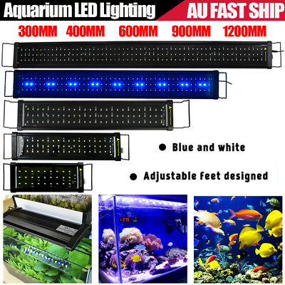 30~120CM Aquarium LED Light Lighting Full Spectrum Aqua Plants Fish Tank Lamp