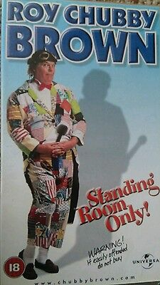 Chubby brown standing room