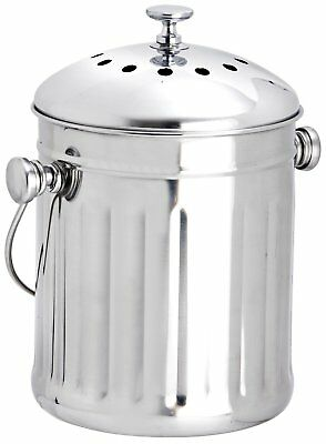 Charmant Eddingtons Mini Stainless Steel Compost Pail Bin Bucket Recycle Waste  Kitchen