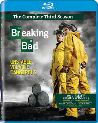Breaking Bad: The Complete Third Season Blu-ray