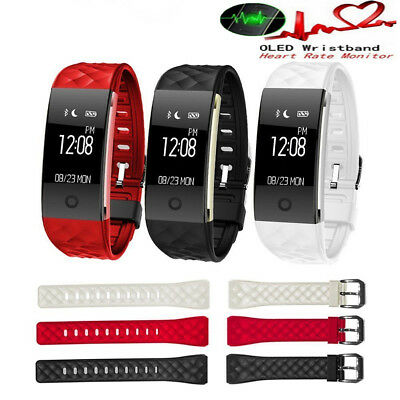 S2 Smart Bracelet Wireless Bluetooth Fitness Tracker with Heart Rate Monitor UK