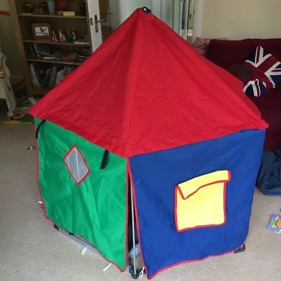 BABYDAN TENT for playpen DEN WITH ATTACHMENTS Tent and attachments only & LINDAM/BABYDAN PLAYPEN tent cover - £7.50 | PicClick UK
