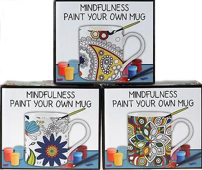 Mindfulness Paint Your Own Mug - Destress Adult Art Therapy