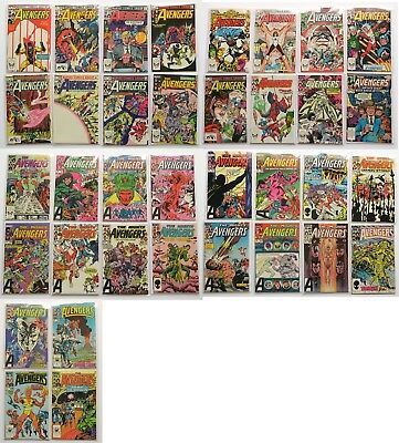 The Avengers Marvel Comics Comic Book Lot of 36 1983