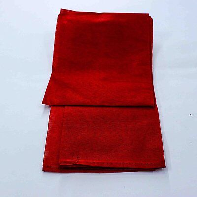 The Holy Mart Red Pure Cotton Cloth (Set of 2) Free Shipping