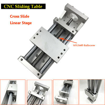 CNC Sliding Table XYZ Axis Cross Slide Linear Stage SFU1605  C7 Actuator Linear