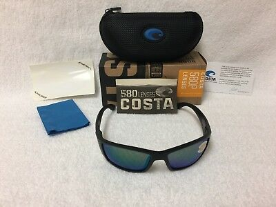 1ea9bb5a0e NEW Costa Del Mar Corbina Polarized Sunglasses Blackout Green 580P CB 01  OGMP