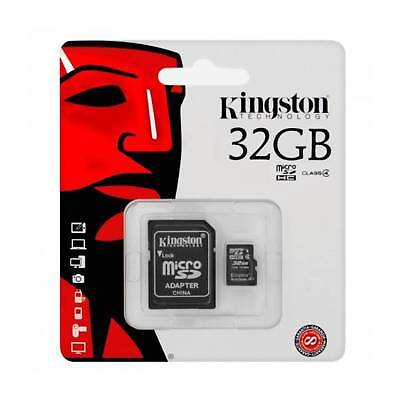 Kingston 32GB Micro SDHC Class 4 Memory Card with Adapter