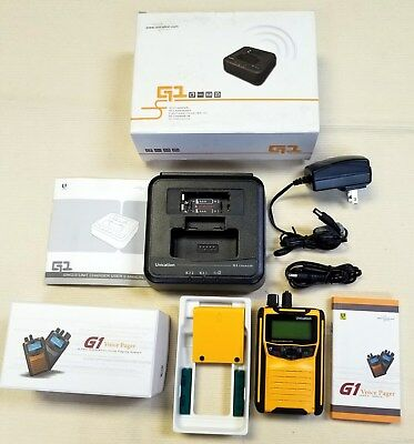 Unication G1 VHF Pager New
