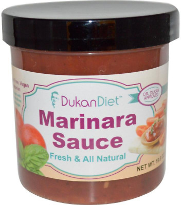 NEW DUKAN DIET MARINARA SAUCE FRESH and ALL NATURAL GLUTEN FREE LOW SODIUM DAILY