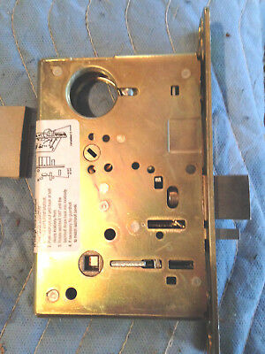Sargent #7837 mortise lock US 10 Classroom function (incomplete)