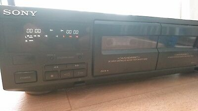 Sony Doppel Cassettendeck TC-WE405