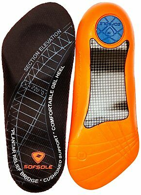 Sofsole Plantar Fascia Gel Shoe Insole for Heel Spurs and Plantar Fasciitis