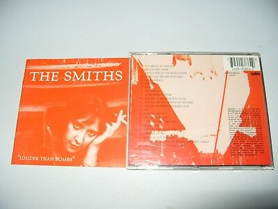 The Smiths Louder Than Bombs (1995) 24 Tracks cd + Inlays Are Excellent