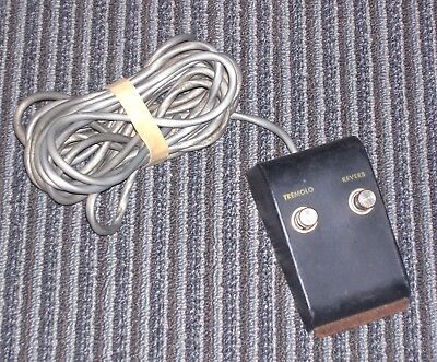 1965 all original Gibson foot switch with cable ~ OUTSTANDING CONDITION...Minty!