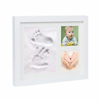 Baby Hand and Foot Prints Picture Frame Kit with Clay-Perfect for Baby Shower...