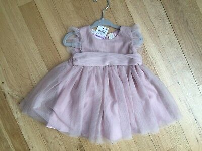 2d105823d6 NWT FIRST IMPRESSIONS Baby Girl Pink Rose Dress 6-9 Months -  29.99 ...