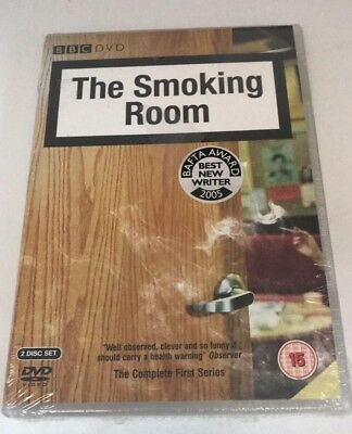 The Smoking Room - The Complete First Series (DVD, 2006, 2-Disc Set) Sealed! New