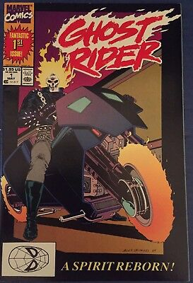 GHOST RIDER Vol. 2 #1 and # 2 1990 comic books-Marvel
