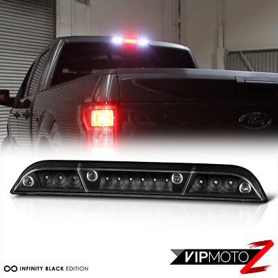 15-18 Ford F150 Full LED Black Replacement 3RD Third Brake Cargo Lamp Tail Light