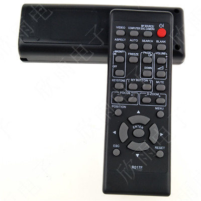 Projector Remote Control for Hitachi R017F HCP-320X HCP-3250X HCP-2700X T1095 YS