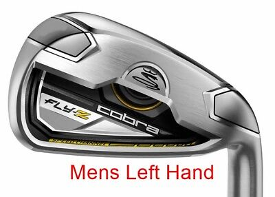 Cobra Fly Z No. 7 Iron - Regular Flex - Graphite Shaft - Mens Left Hand - New!