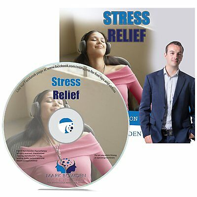 Stress Relief Hypnosis CD - Face Every Day Feeling More Relaxed and in Control -