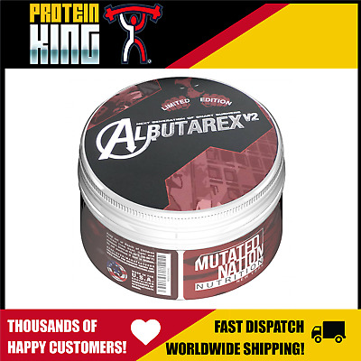 Mutated Nation Albutarex V2 40 Serve Powerful Thermogenic Fat Burner Latest 2018