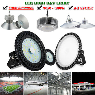 30W 50W 70W 100W 150W 200W 250W 300W LED High Bay Light Industrial Lighting 240V