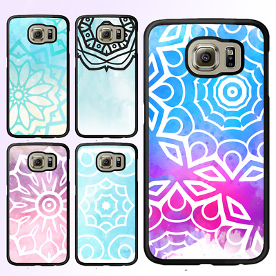 Galaxy S8 S8 Plus S7 S6 S5 Note 8 Edge Case Mandala II Bumper Cover For Samsung